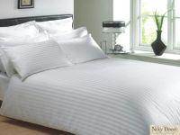 Lenjerii_de_pat_albe_damasc_satinat_hotel_pret